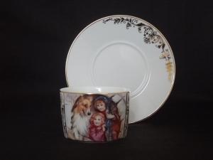 Пара чайная Перед рождеством