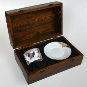 Подарочный набор Чайная пара Тетерева