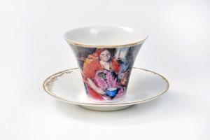 Чайная пара по картине А.Архипова